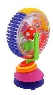 Juguete sassy rueda giratoria bebes sonajero niños
