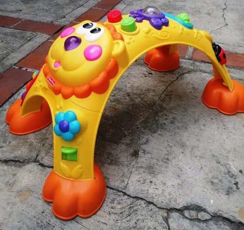 León fisher price, juguete para bebé