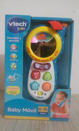 Vtech telefono baby movil descubre y aprende original