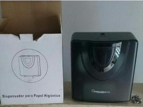 Dispensador de papel higiénico marca brilux 9