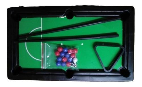 Mesa de pool para niños juego mesa didáctico 25 cm
