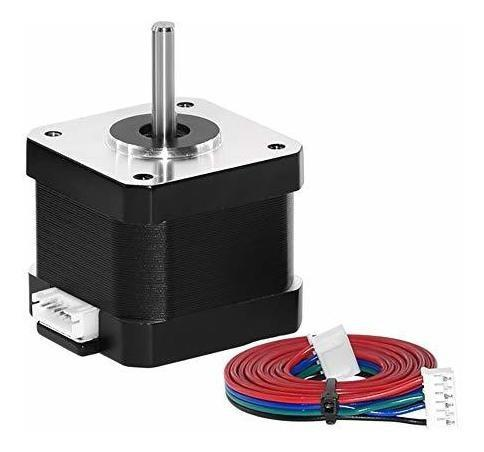 4 lead motor paso nema 17 mm 1,7 para impresora 3d cnc