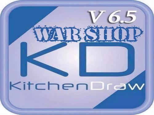 Kitchendraw 6.5 + cargador de horas + opticut 5.25a + inst