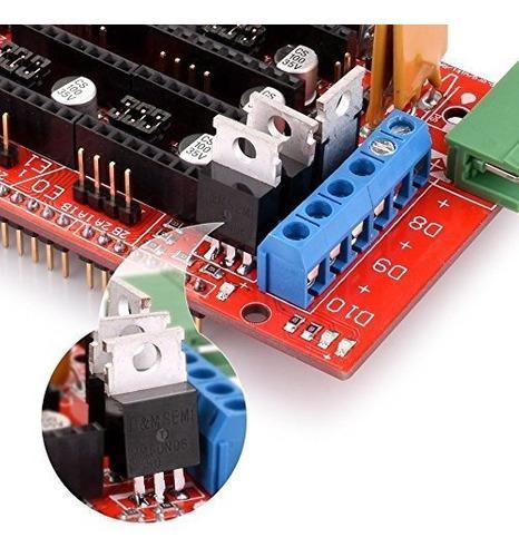 Longruner kit impresora 3d controlador junta ramps 1.4