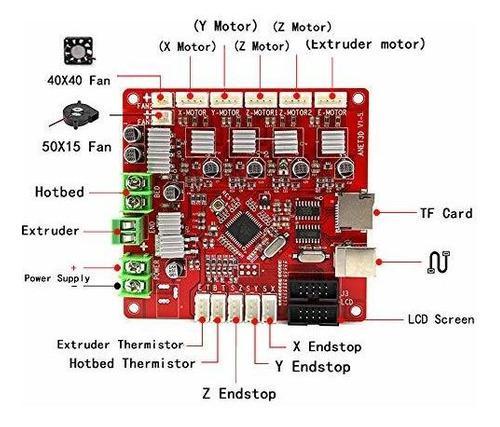 Placa base anet a8 v1.5 para impresora 3d