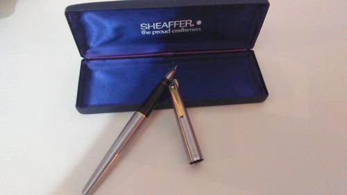 Pluma fuente marca sheaffer original hecho en usa