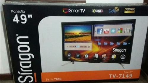 Televisor smart tv de 49 pulgadas full hd marca síragon