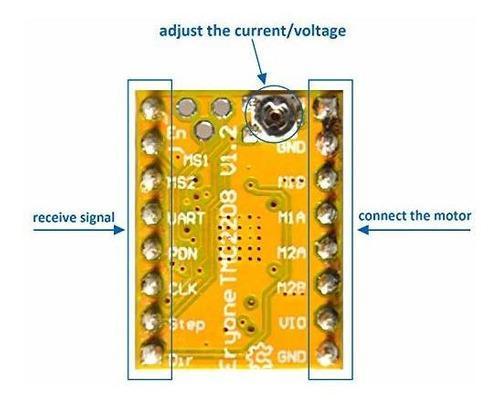 Tmc2208 controlador motor paso para impresora 3d