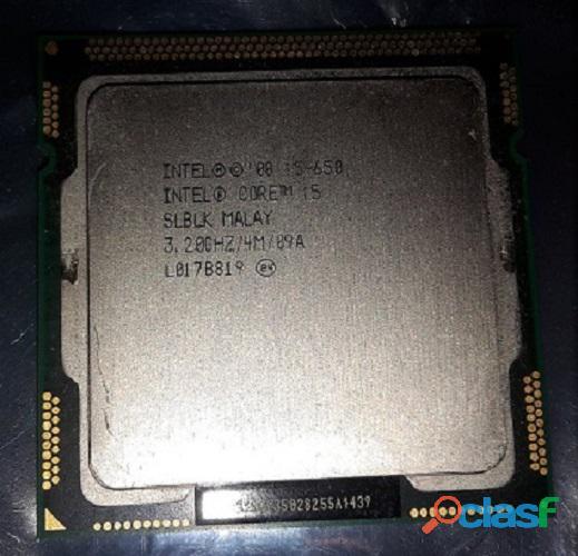 Procesador intel® core i5 650 caché de 4m, 3,20 ghz