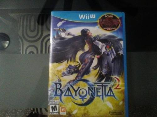 Juego original wii u usado bayonetta 2 especial edition 2 cd
