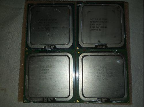Procesador intel dual core pentium celeron pentium d core 2