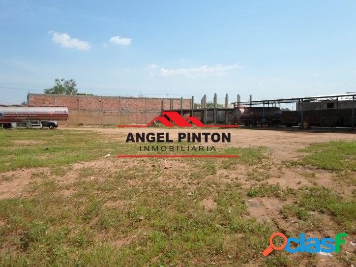 Terreno en venta zona industrial maracaibo api 3553
