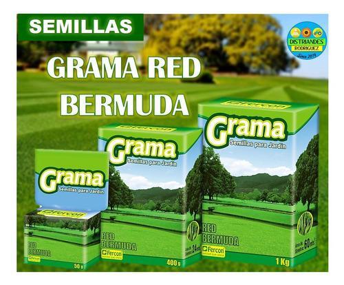 Semillas de grama red bermuda 50gr (2 sobres)