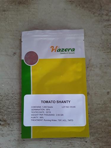 Semillas de tomate shanty f1 original, marca hazera