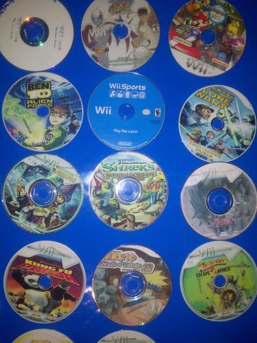 Juegos de wii + combo de películas
