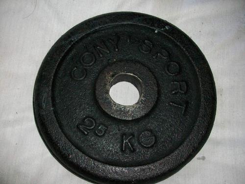 Disco pesa por cada unidad de kg mod escogido deporte ejerci