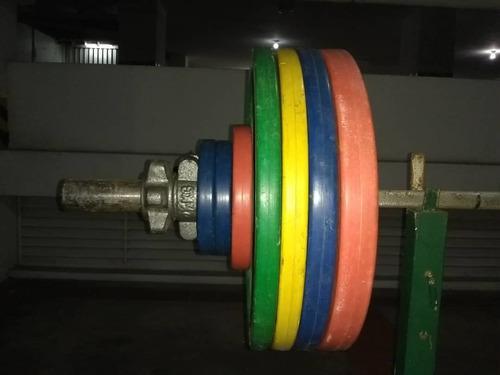 Juego de pesas olímpico original eleiko