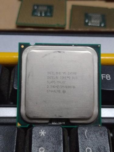 Procesador intel core2 duo e4500 2.20 ghz 2mb cache 800 mhz