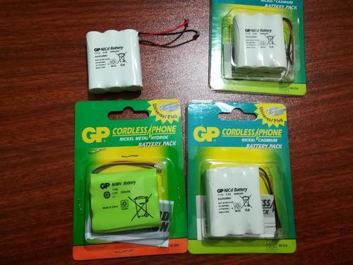 Baterias t160 3.6v 600 mah para telefonos inalambricos