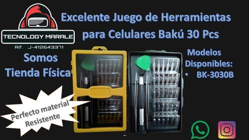 Juego d herramienta para celulares baku bk3030-mayor y detal