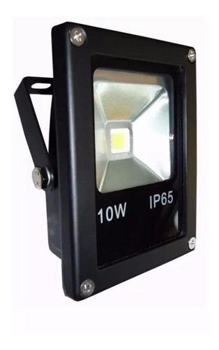 Reflector led slim 10w 6500k ip65 100 l/w 85/265v hammer