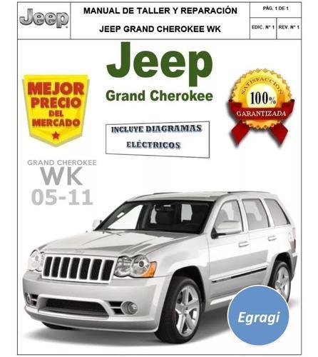 Jeep Grand Cherokee Manual  U3010 Anuncios Mayo  U3011