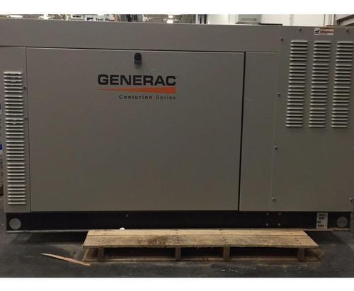 Planta electrica generac de 60 kva dual a gas y gasolina
