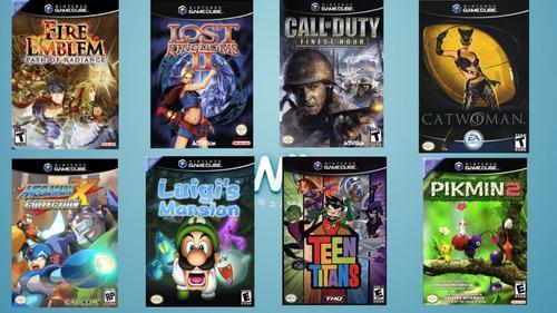 Juegos nintendo gamecube digitales (precio 1 veldes)