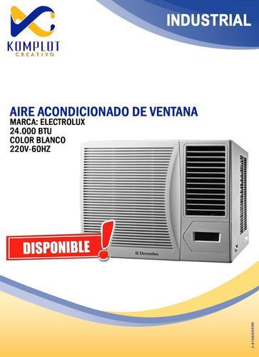 Aire acondicionado electrolux 24.000 btu