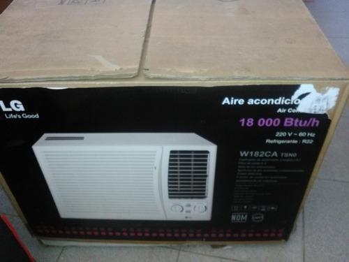 Aire acondicionado lg 18000 btu totalmente nuevo