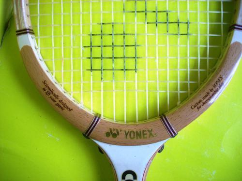 Raqueta de tenis yonex con su forro ganga...!!!!!