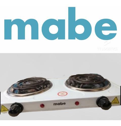 Cocina eléctrica 2 hornillas mabe original 110v 2000w-