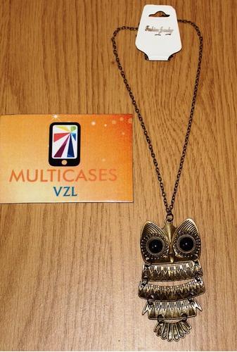 Collares de búhos cadenas de moda bisutería joyas oferta