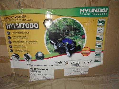 Cortadora de césped, podadora de grama hyundai 800vrd