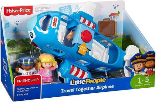 Fisher-price little people viaja en avión juntos om1