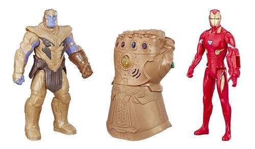 Marvel avengers: endgame thanos iron man