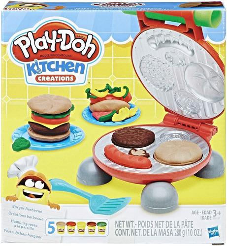 Set play doh kitchen creations para hamburguesas