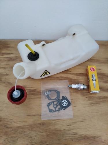 Tanque gasolina kit carburador bujía desmalezadora guadaña