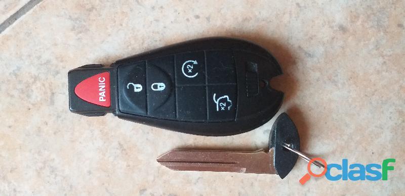 Vendo llave control nueva para grand cherokee 2008   2013