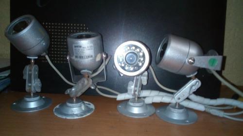 Cámaras seguridad vídeo vigilancia ($45)