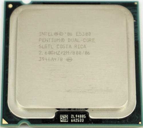 Procesador intel (dual core) e5300 2.6gh