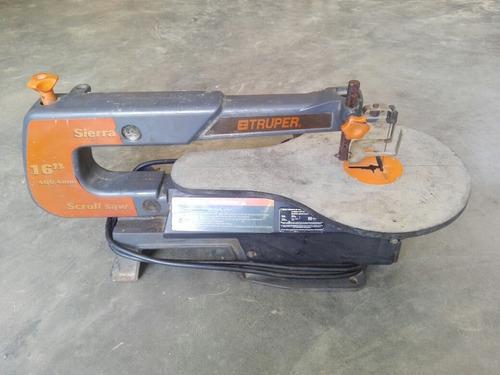 Caladora de banco truper para carpinteria con 6 hojillas