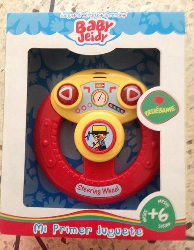 Juguete educativo de bebé volante con luz sonido baby jeidy