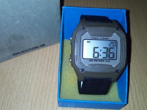 Reloj freestyle modelo killer shark original h2o