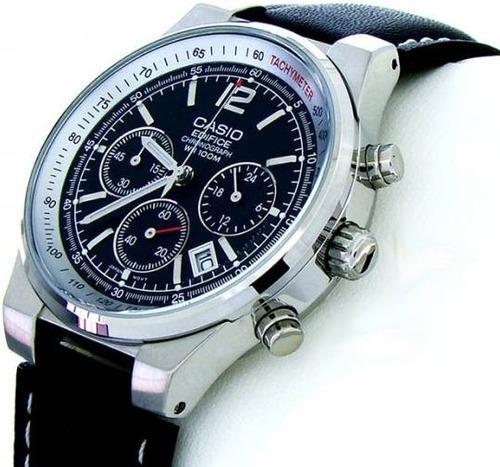 Reloj original casio® edifice cronógrafo 100 m nuevo (120