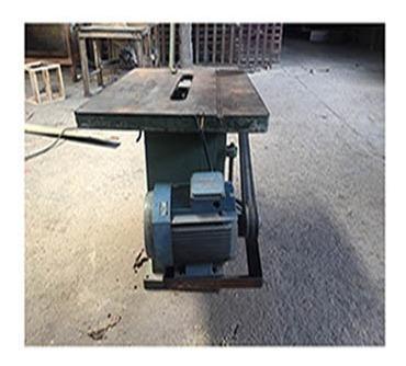 Sierra industrial de banco para carpintería