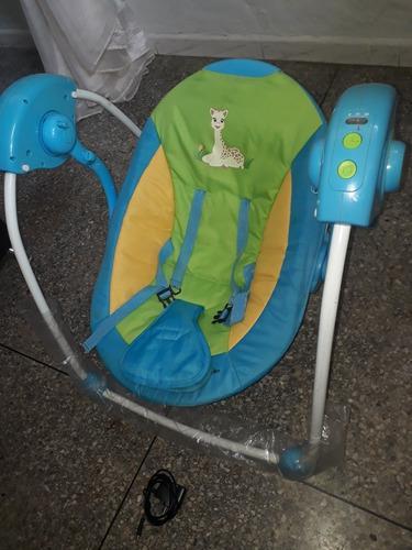 Silla mecedora eléctrica para bebe