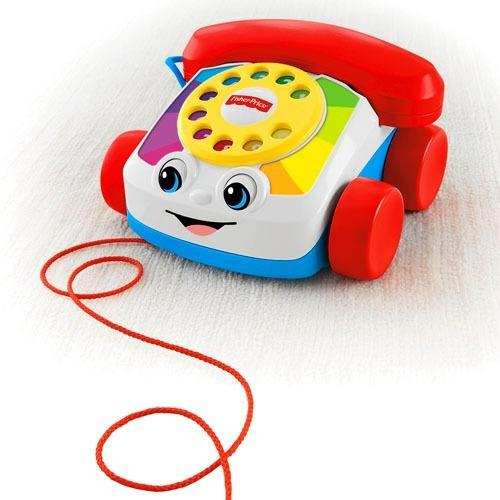 Telefono fisher price niños bebes juguete musical