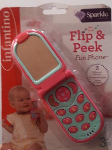 Telefono infantino para bebes, juguetes