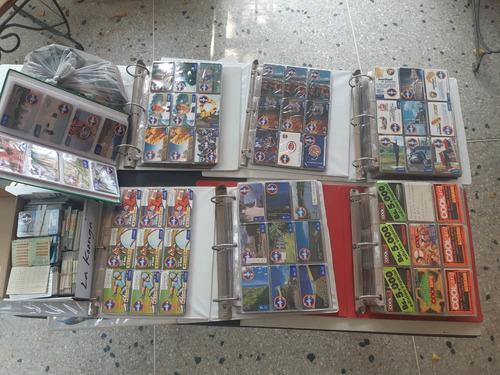 Colección d tarjetas telefónicas unica. más de 5mil